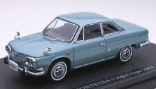EBBRO 1964 Hino Contessa 1300 Coupe (Blue) 1/43 Scale Diecast Model NEW, RARE!