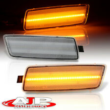 Clear Amber Led Side Marker Lights Signal Lamps For Vw Gti Jetta Mk5 Rabbit R32