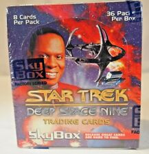 Skybox factory sealed box Star Trek: Deep Space Nine Trading Cards Inaugural Ed.
