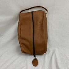 Arnold Palmer's Bay Hill Leather Toiletry Bag EUC