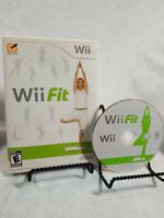 Wii Fit Game and Manual Only in Case! Nintendo Wii