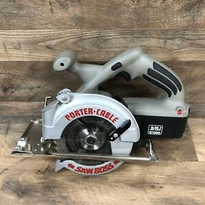 Porter Cable Model 845 Cordless Circular Saw with 19.2V Battery and Blade