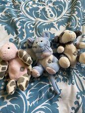 Blue Nose Friends Bundle 65 86 99 Cheddar Alpine Ocean Mouse Turtle Dog Soft Toy