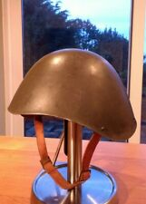 REAL GREEK WW2 M1934/39 COMBAT ARMY HELMET RARE LARGE SIZE ITALIAN