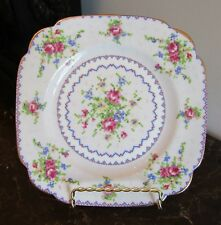 """Royal Albert Petit Point Salad Plate 7 5/8"""" Square (20 Plates available)"""