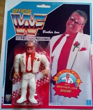 WWF Hasbro custom brother love wrestling figure WWE wcw moc