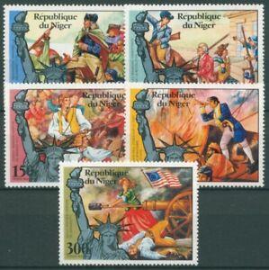Niger 1976 200 Jahre Unabhängigkeit der USA 514/18 postfrisch