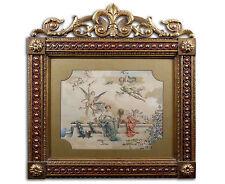 Künstlerische im Historismus-Stil mit Aquarell-Technik von 1800-1899