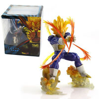 Anime Dragon Ball Zero DBZ Super Saiyan Vegeta PVC Loose Figure Xmas Gifts Toys