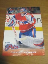 2008 09 Fleer Ultra # 33 Carey Price - Montreal Canadiens                      B