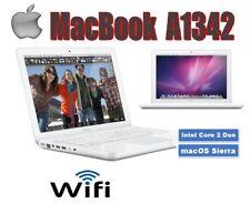"""Apple MacBook A1342, 13.3""""  macOS 10.12, Sierra - 2.4 GHz - 8GB RAM - 250GB HDD"""