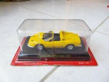 Ferrari Dino 246 GTS 1/43 Ixo Altaya miniature sous blister DEFAUT
