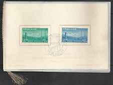 Telegraph Centenary India 1953     VIP Folder   communications telegraphic poles