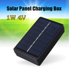 1W 4V Solar Panel Battery Charger Box For 2*AA/AAA 1.2V Batteries Power Supply