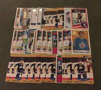 Darryl Sittler 36 Card Lot Nice Mix See Scans NHL Hockey