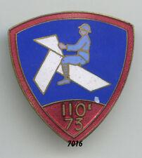 Insigne infanterie , 110 / 73  RI.