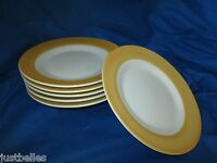 JCPENNEY YELLOW - GOLD BANDED Salad Plate 1 of 2 available have more to this set