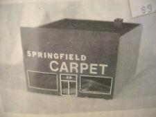 LASTCHANCE STRUCTURAL CONCEPTS HO SCALE #1001 SPRINGFIELD CARPET BUILDING NEW