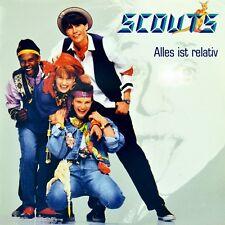 """7"""" SCOUTS S.C.O.U.T.S. Alles ist relativ / Freiheit 45rpm CBS Dutch-Press 1989"""