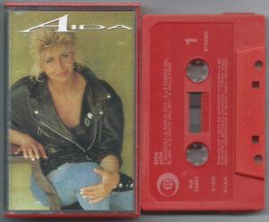 CASSETTE TAPE MC AIDA s/t (Ricordi 89) Cooper 1° stampa Italian r&b soul pop NM!