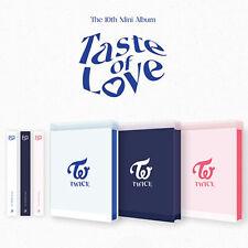 TWICE [TASTE OF LOVE] 10th Mini Album CD+POSTER+Photo Book+8 Card+GIFT+Pre-Order