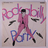 "VARIOUS: Rockabilly Party LP (UK, 10"", sl cw) Oldies"
