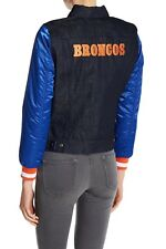 011dcc1da Denver Broncos Levis Trucker Blue Denim Jean Jacket Women Medium NFL  212300002