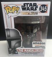 Funko Star Wars 345 The Mandalorian Bobble Head Figure Amazon Exclusive