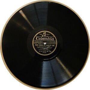 78T LP 78rpm TINO ROSSI pour t'avoir au clair de lune / Chanson pour Nina