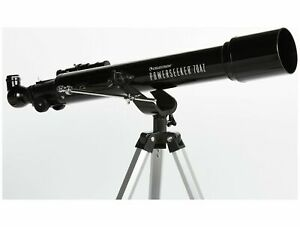 Brand New Boxed Celestron PS70/700 Refractor Telescope With Tripod - Black