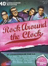 Rock Around The Clock : 40 Legendary Artists (Book + 4 CD's)