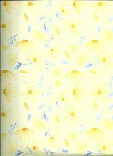 Yellow Daisies 12 x 12 Scrapbook Paper - 2 Sheets