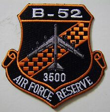 B-52 AIR FORCE RESERVE 3500 HOURS PATCH FULL COLOR:GA12-4