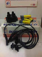 FORD FIESTA & KA 1.3 (up to 1998) IGNITION COIL PACK HT LEADS SET & SPARK PLUGS