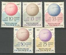 INDONESIA 1958 ZBL 223-27   MNH