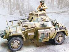 THE COLLECTORS SHOWCASE WW2 GERMAN WINTER CS00574 SDKFZ 222 ARMORED CAR MIB
