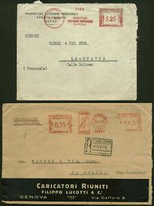 1939 Italy - Venezuala meter marks