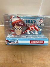 Primark Wheres Wally Christmas Tree Hanging Baubles Decorations (b12)
