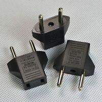 3pcs US nach EU  Netzstecker Socket Travel Adapter für USA Converter  Gift