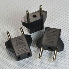 3pcs US nach EU  Netzstecker Socket Travel Adapter für USA Converter