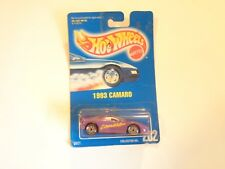 New Hot Wheels 1993 Camaro 1991 Collector # 202 Scale 1:64 By Mattel MOC