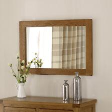 Rustic Oak Medium Mirror - Wall Hanging Living Dining Furniture - BRAND NEW RS32