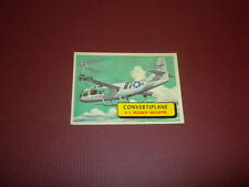 PLANES trading card #31 TOPPS 1957 Army Navy Marines Air Force PRINTED IN U.S.A