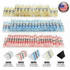 250PCS Mix Solder Sleeve Heat Shrink Butt Waterproof Splice Wire Connectors Kit