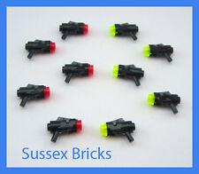 Lego Star Wars - 10x Stud Shooter Blaster Pistols Minifigure Weapons - 15391