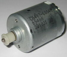 Electric Motor with Plastic Gear - 12 V DC - 2800 RPM - Low Current Draw - 3 Pin