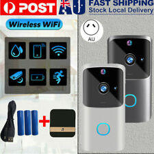 Wireless WiFi Video Doorbell Smart Phone Door Ring Intercom Camera Security Bell