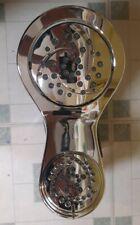 Delta HydroRain 2 In 1 5 Spray Settings Shower Head Chrome 75599C Rain Spa Bath
