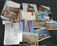Old Vintage Postcards Collection UK & Foreign Clearance Job Lot Mixed Eras