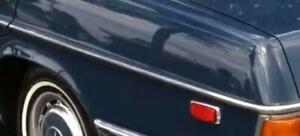 Mercedes Center Chrome Moulding Rear Quarter Panel Left Trim New OEM W114 W115